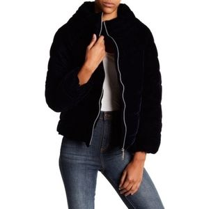 NWT $200 Sam Edelman Funnel Neck Puffer Jacket